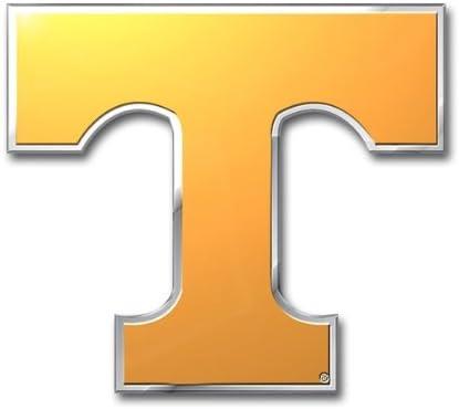 FANMATS University of Tennessee Heavy Duty Aluminum Color Emblem