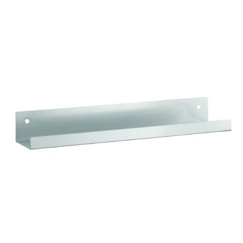 UPC 078541169135, STEELMASTER Metal Display Shelf, 2.5 x 18 x 4.5 Inches, Silver (271118050)