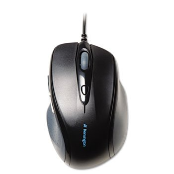 Kensington Pro Fit Full-Size Mouse K72369US Black Wired