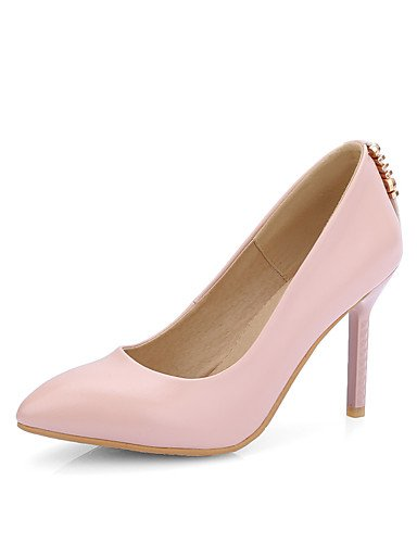 GGX/Damen Heels Frühling/Sommer/Herbst/Winter/Basic Pumpe/spitz Toe Office Karriere/Kleid/Casual Stiletto-Absatz black-us10.5 / eu42 / uk8.5 / cn43