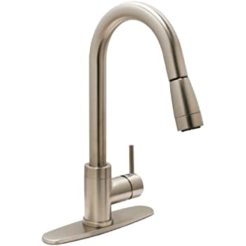 Huntington Brass 51191 72 Single Handle Pull Down Kitchen