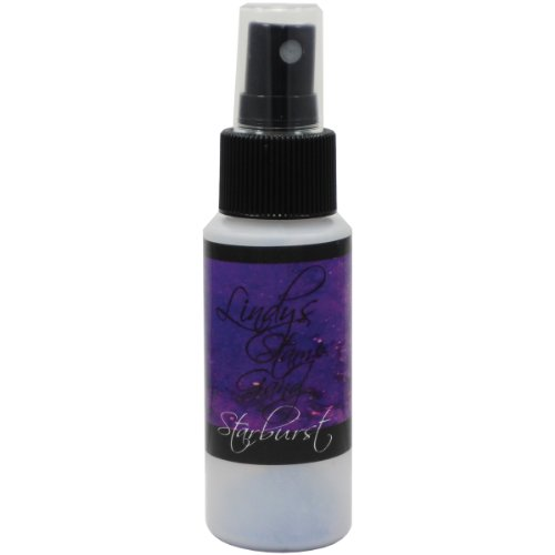 Lindy's Stamp Gang Starburst Spray Paint, 2-Ounce Bottle, Witch's Potion Purple by Lindy's Stamp Gang