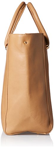 LYDC G1708 - Bolsos totes Mujer Beige (Taupe)