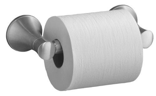 Kohler K-13434-G Coralais Toilet Tissue Holder, Brushed Chrome