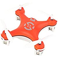 Cheerson CX-10 4 Channel 2.4G Quadrocopter 4CH with 6 Axis Gyro RC Quadcopter Remote Control Toys Drone (Color: Orange)