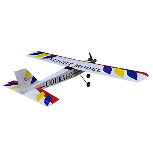 (RC Plane Model Nitro Trainer Airplane ARF 4CH Courage-10 59.4