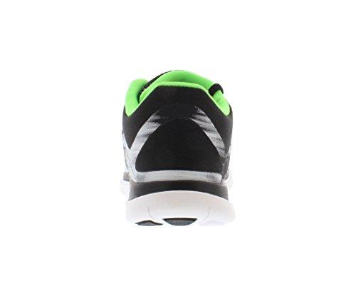 ... Nike Menns Gratis 4,0 Løpesko Antrasitt Hvit Svart Elektrisk Grønn  642197013 Størrelse (7