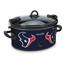 Official NFL Crock-pot Cook & Carry 6 Quart Slow Cooker – (Houston Texans)