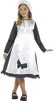 Luxuspiraten – Disfraz de niña Medieval con Vestido y Sombrero ...