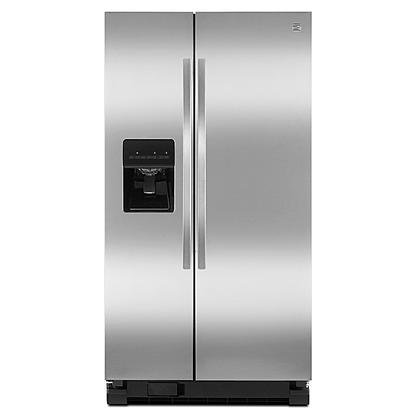 Price comparison product image Kenmore 50023 25 cu. ft. Side-by-Side Refrigerator - Stainless Steel
