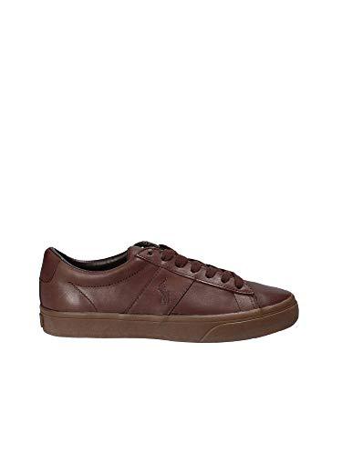 Man Polo Ralph Sneakers Lauren Brun 816710018003 rqOIAWqn