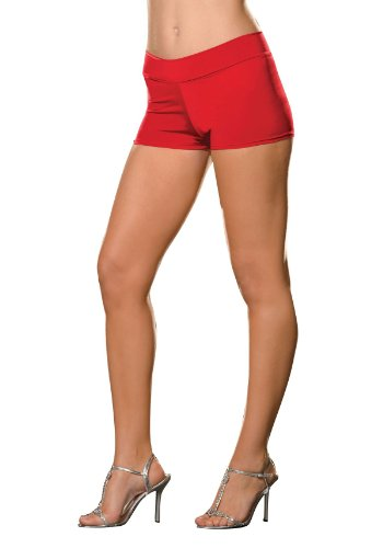 Roxie Hot Shorts Adult Underwear Red - Plus Size 3X/4X - Adult Roxie Hot Shorts