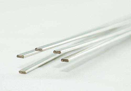 - WeldingCity 5-pcs Copper Phosphorus Filler Brazing Rod Silver 15% (BCuP-5) 20