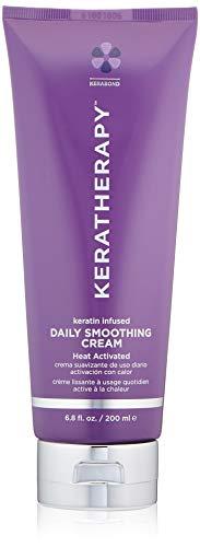 KERATHERAPY Keratin Infused Daily Smoothing Cream, 6.8 Fl Oz