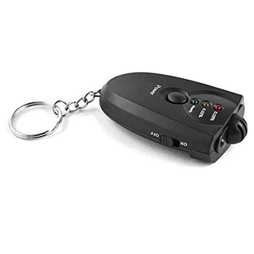 (E-House Pop Keychain Gifts Keychains for Women Portable Keychain LED Indicator Breath Alcohol Tester Breathalyzer Analyzer)