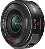 PANASONIC LUMIX G X VARIO POWER ZOOM LENS, 14-42MM, F3.5-5.6 ASPH., MIRRORLESS MICRO FOUR THIRDS, POWER O.I.S., H-PS14042K (USA BLACK)
