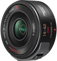 PANASONIC LUMIX G X VARIO POWER ZOOM LENS, 14-42MM, F3.5-5.6