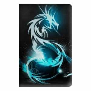leather-flip-case-samsung-galaxy-tab-4-101-fantastique-dragon-bleu