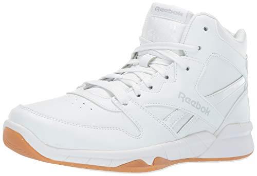 - Reebok Boys' BB4500 HI 2 Sneaker, White/Gum, 1 M US Little Kid