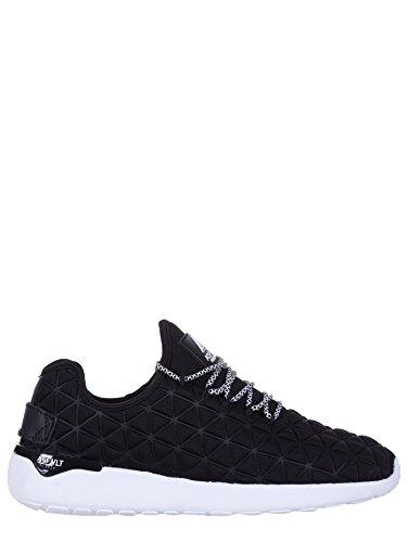 Asfvlt SPEED SOCKS, sneakers basse, donna, tessuto, nero