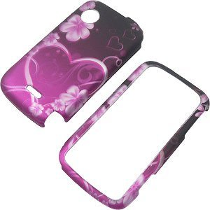 Beyond Purple Heart Protector Case for Huawei M735 (Huawei M735 Case)