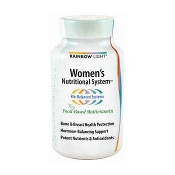 Amazon Com Rainbow Light Women S Nutritional System Multivitamin Support For Bone