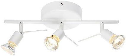 IKEA Lámpara Techo Focos, Blanco: Amazon.es: Iluminación