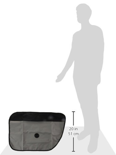 K/&H Pet Products Vehicle Door Protector Gray 19 x 27 Protects your car doors from pet scratches