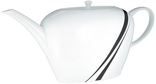 Mikasa Jazz 51-Ounce Tea Server, Black (Tea Black Mikasa)