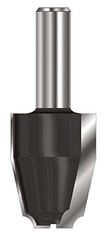 ENT 17360 Abplattfräser HW (HM), Schaft (C) 12 mm, Durchmesser (A) 31,8 mm, B 41,3 mm, D 40 mm, 12° schräg ENT European Norm Tools