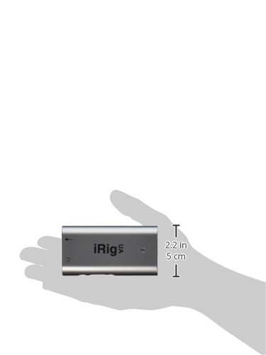 IK Multimedia IP-IRIG-UA-IN iRig UA Guitar Interface and Processor for Android Devices IPIRIGUA
