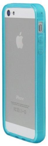 ® luvvitt Schutzhülle Stoßfest für iPhone 5(Retail Packaging) Alu Transparent