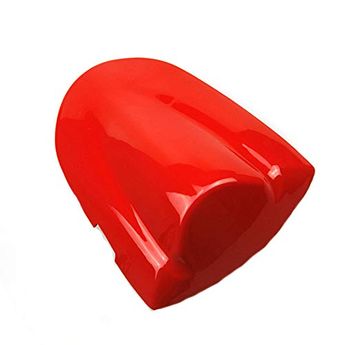 Motorcycle Parts Rear Passenger Pillion Seat Cover Cowl Pad Hard ABS Motorbikes Fairing Tail Cover For Suzuki K6 GSXR600 GSXR750 GSX-R 600 750 2006 2007 (Red)