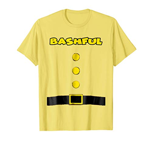 Bashful Dwarf Halloween Costume Bashful Dwarf T-shirt -
