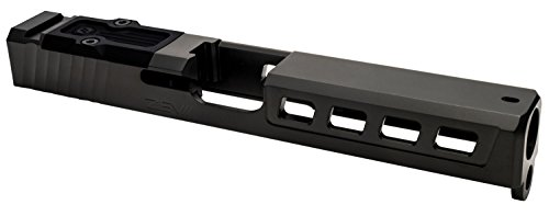 Dragonfly RMR Slide compatible with Glock 17 Gen3 17-4 Stainless Steel Black