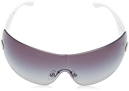 New Authentic VERSACE SUNGLASSES White Frame 2054 1000 8G Dark Gray ... 0f548ea6b6