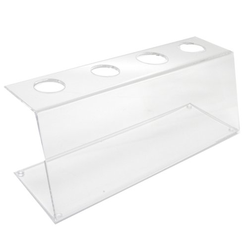 - Mirart Clear Acrylic Four Cone Holder