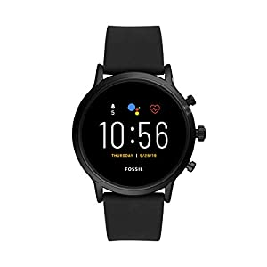 Fossil Gen 5 Carlyle Stainless Steel Touchscreen Smartwatch with Speaker, Heart Rate, GPS, NFC, and Smartphone…