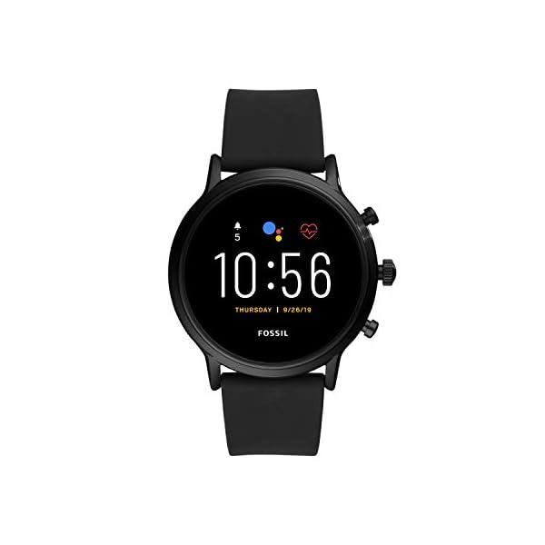 Fossil Smartwatch Gen 5 da Uomo Touchscreen con Altoparlante, Frequenza Cardiaca, GPS, NFC e Notifiche per Smartphone 1