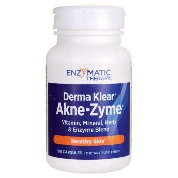 Amazon.com: Enzymatic Therapy Derma Klear akne Zyme, 90 ...