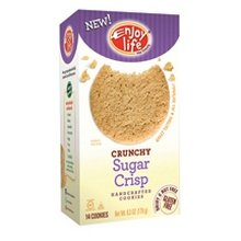 Enjoy Life Crunchy Sugar Crisp Cookies 6x 6.3 Oz