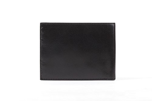 Bosca Old Leather Collection Slimfold (One Size, Black (Collection Leather Slimfold Wallet)