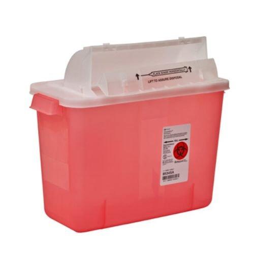 4 gallon sharps container - 6