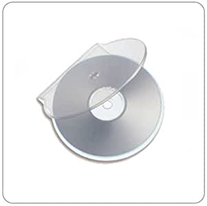 Chroma ProductsTM - Cajas redondas para CD y DVD (50 unidades ...