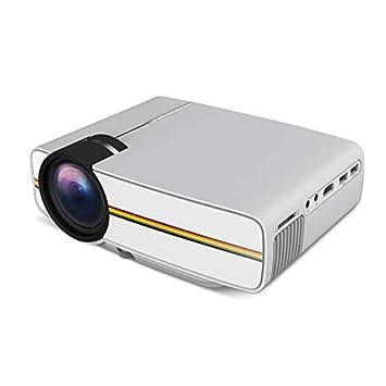ZZKK Proyector LED Micro proyector portátil Mini proyector ...