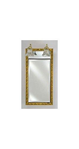 Signature Single Door Bath Cabinet in Gold (Small)