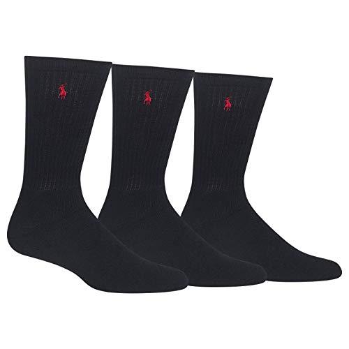 Polo Ralph Lauren Mens Classic Sport 3-Pairs Socks Sz: 10-13 Fits ...