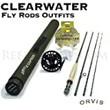 Orvis Clearwater 5-weight, 7'6'' Fly Rod Outfit