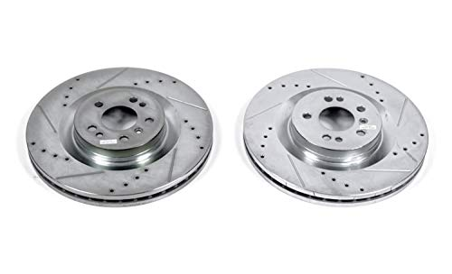 Power Stop EBR674XPR Front Evolution Drilled & Slotted Rotor Pair