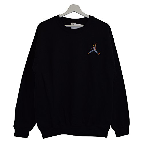 c313ff0a Actual Fact Biggie x Jordan Slam Dunk Black Crew Neck Hip Hop Big  Sweatshirt Top (Small-XXLarge) - Buy Online in Oman.   Clothing Products in  Oman - See ...